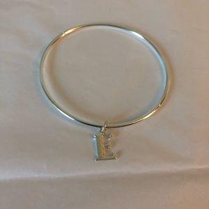 """Jewelry - """"E"""" charm bracelet"""